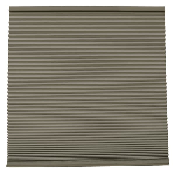 Keystone Fabrics Blackout Cordless Cellular Shade Green Slate 38.25 to 54 inch wide x 72 inch drop