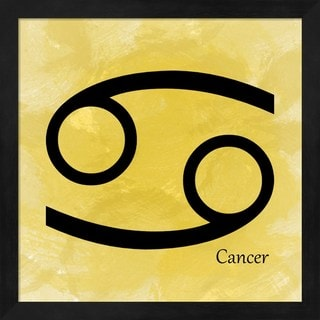 Veruca Salt 'Cancer - Yellow' Framed Art