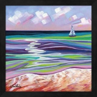 Eve Wheeler 'Smooth Sailing' Framed Art