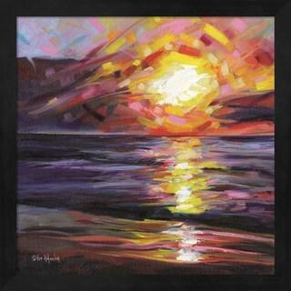 Eve Wheeler 'Solar Reflections' Framed Art