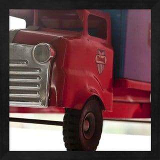 Symposium Design 'Red Truck' Framed Art