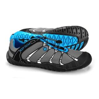 Men's Azeo Black/Neon Blue Shoes