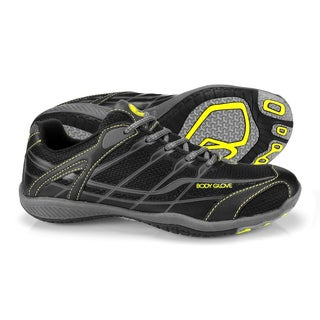 Body Glove Men's Dynamo Swift Black/Yellow Hybrid Watersports Athletic Shoes