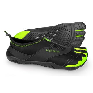 Body Glove Men's 3T Barefoot Cinch Black and Neon Green Water Shoes