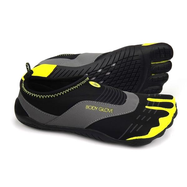 Body Glove Boys' 3T Black/ Yellow Barefoot Cinch