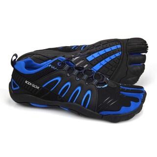 Body Glove Men's 3T Barefoot Warrior Black & Brilliant Blue Rubber Water Shoes