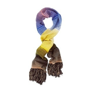 Missoni Striped Wool Fringe Scarf