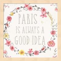 Jess Aiken 'Paris Blooms IV' Framed Art