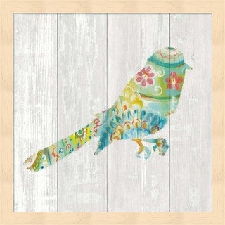 Danhui Nai 'Spring Dream Paisley X' Framed Art