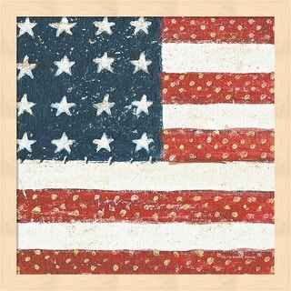 David Carter Brown 'Americana Quilt IV' Framed Art