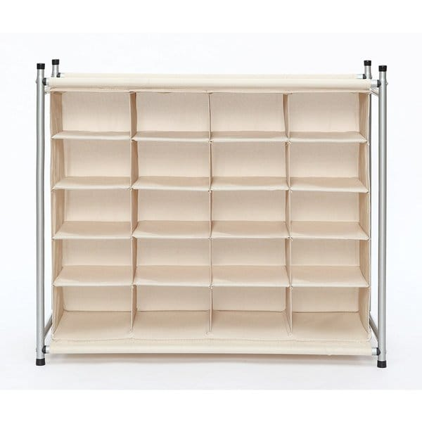 64ffccce1 Shop StorageManiac Free Standing Polyester Canvas 5-Tier