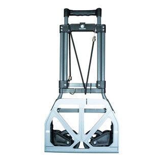 Go Green Power Grey 150 lb Capacity Hand Truck/Luggage Cart