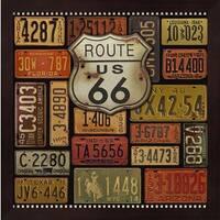 Jean Plout 'Route 66' Framed Art