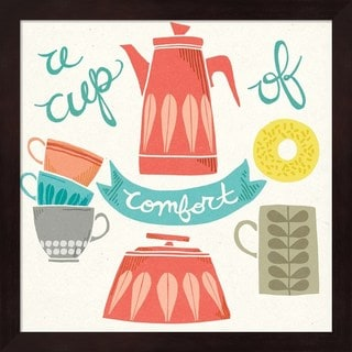 Mary Urban 'A Cup of Comfort' Framed Art