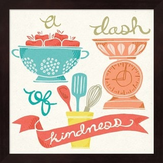 Mary Urban 'A Dash of Kindness' Framed Art