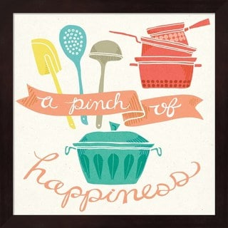 Mary Urban 'A Pinch of Happiness' Framed Art