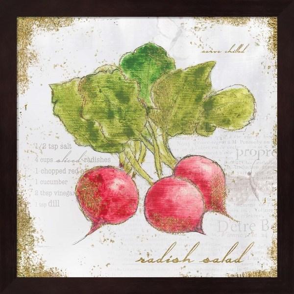 Emily Adams 'Garden Treasures XII' Framed Art