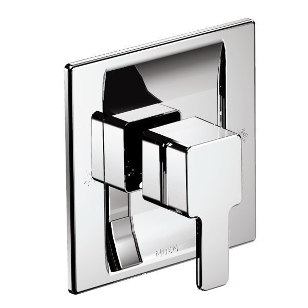 MOEN TS2711 Chrome (Grey) 90-degree Posi-Temp Valve Trim ...