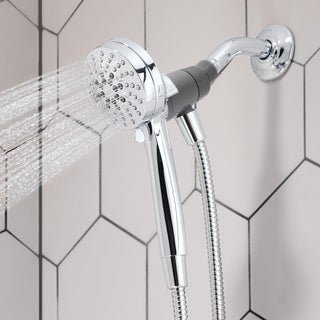 Moen Engage 26100 Chrome 6-function 3.5-inch Diameter Spray Head Handshower