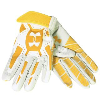 Under Armour Boys' Motive Gold/White Youth Batting Glove