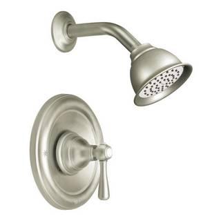 Moen Kingsley Posi-Temp Brushed Nickel Shower Fixture