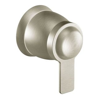 Moen TS3300BN Brushed-nickel 90-degree Single-function Flow Valve Shower Trim