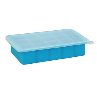 Green Sprouts Aqua Silicone Freezer Tray
