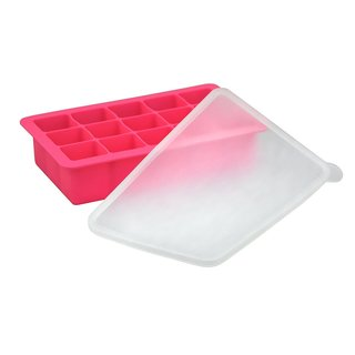 Green Sprouts Pink Silicone Baby Food Freezer Tray