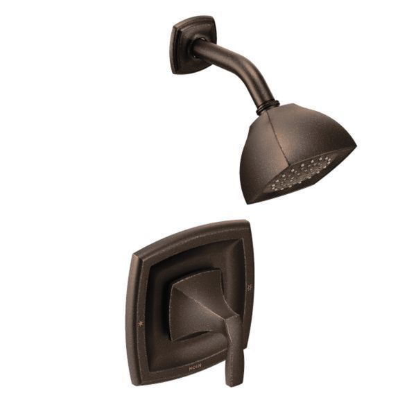 Moen T4502ORB Wynford Posi-Temp Shower Trim Kit without Valve Oil Rubbed Bronze
