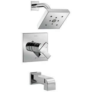 Delta T17467 Ara Monitor 17 Series H2Okinetic Chrome Tub and Shower Trim