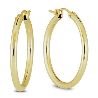 Link to Marquee Jewels 14k Yellow Gold Filled Hoop Earrings (27 MM) Similar Items in Earrings