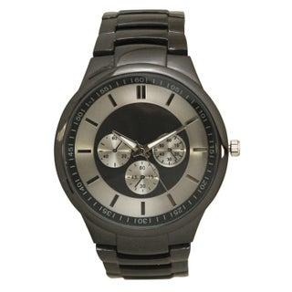 Olivia Pratt Men's Sleek and Simple Faux Chronograph Bracelet Watch