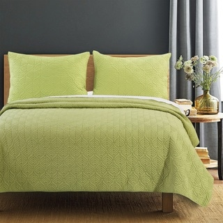 Piper Green Quilt Set