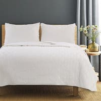 Piper Ivory Quilt Set