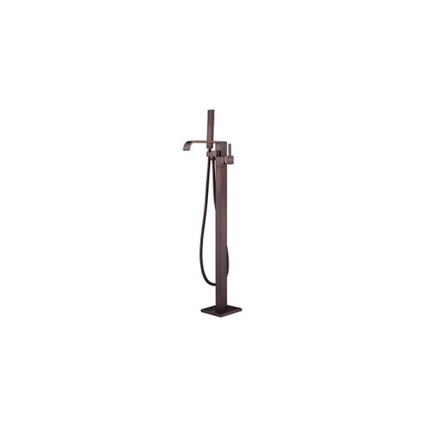 Shop Helixbath Kaieteur Oil Rubbed Bronze Freestanding Tub Faucet