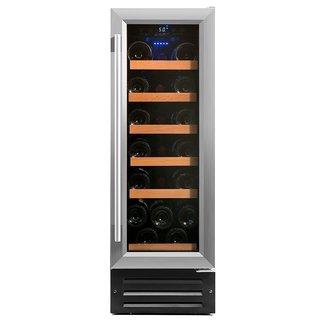 Smith & Hanks Stainless Steel 19 Bottle Single Zone Wine Refrigerator