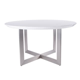 Top Product Reviews For Tosca Inch Round Dining Table White - 54 inch glass top round dining table