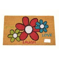 Live Laugh Love Coir Door Mat (17 Inch x 29 Inch)