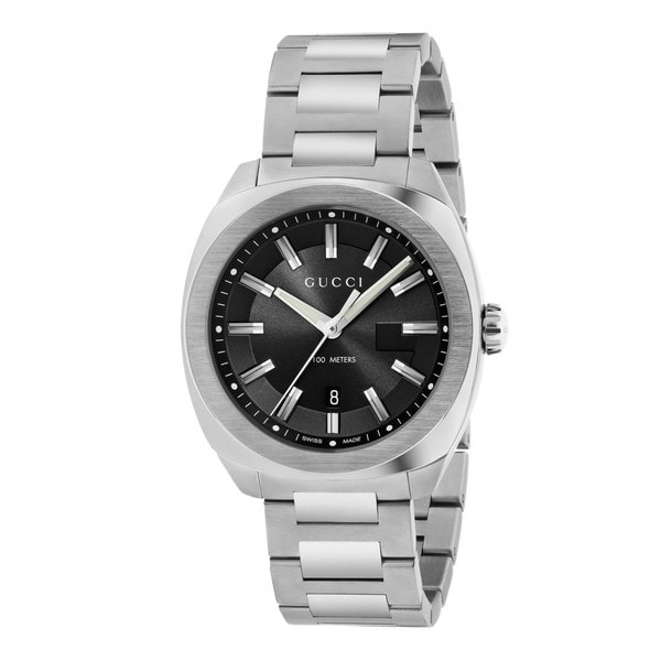 Gucci Men's YA142301 'GG2570 Large' Stainless Steel Watch. Opens flyout.