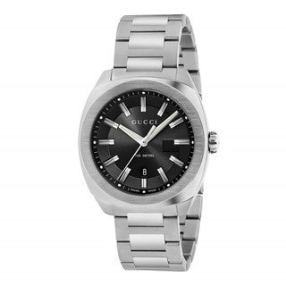Gucci Men's YA142301 'GG2570 Large' Stainless Steel Watch