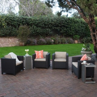 Puerta Outdoor 6-piece Seating Set with Cushions by Christopher Knight Home