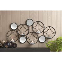 Tremont Decorative Wall Art with Candleholders