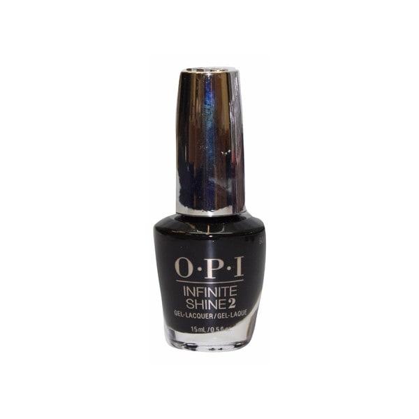 Shop OPI Nail Lacquer Infinite Shine Black Onyx - Free Shipping On ...