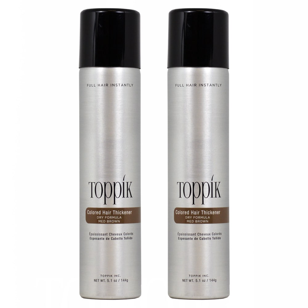 Toppik Colored Hair 5.1-ounce Thickener (Pack of 2) (Ligh...