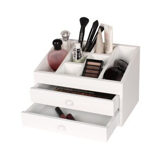 Kate and Laurel Dori Jewelry and Cosmetic Organizer Box