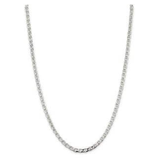 Sterling Silver 4.65mm Flat Anchor Chain