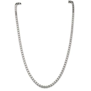 Sterling Silver 4.5mm Box Chain - White