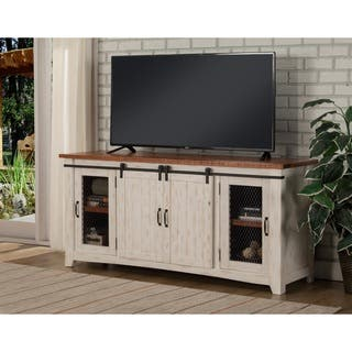 Distressed White Tv Consoles Home Ideas