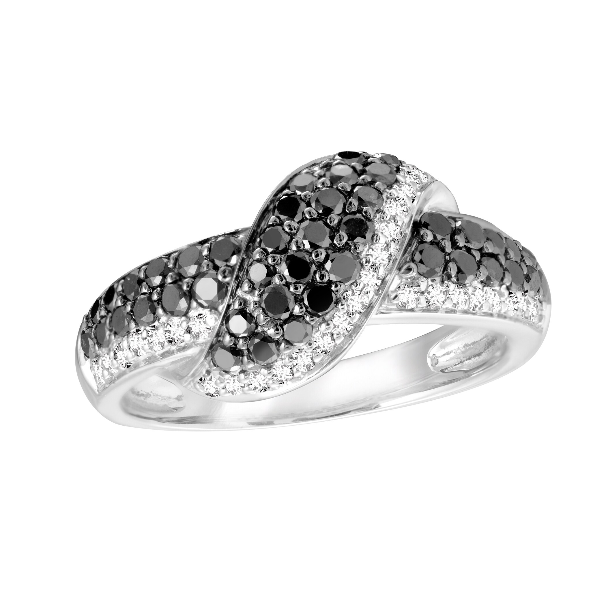 Authentic Black Diamond Silver CZ Ring (size 6.75), Women...