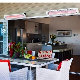 Bromic Tungsten Smart-Heat Electric Heater 6000w - White Model